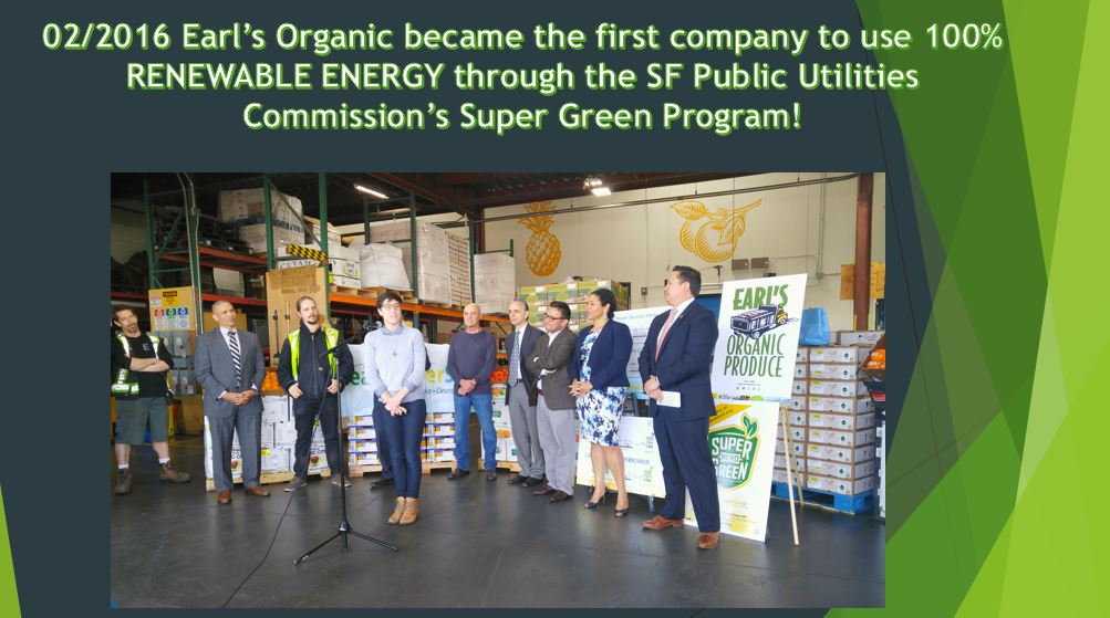 Super Green 100% Renewable energy