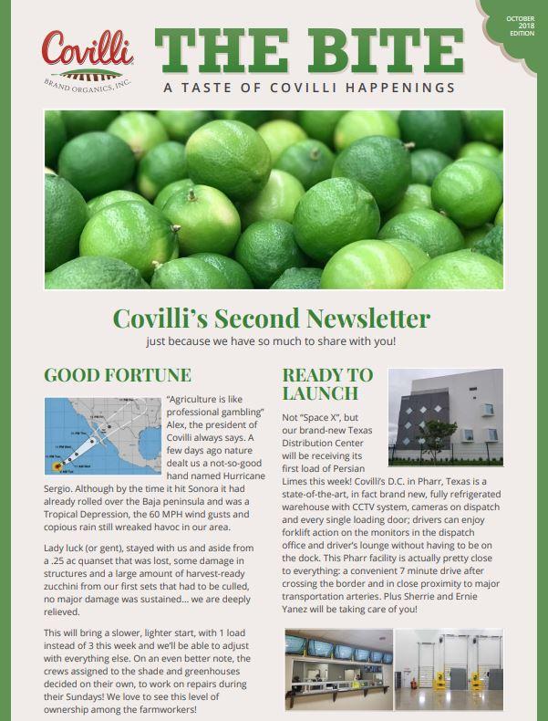 Covilli Bite October Page 1