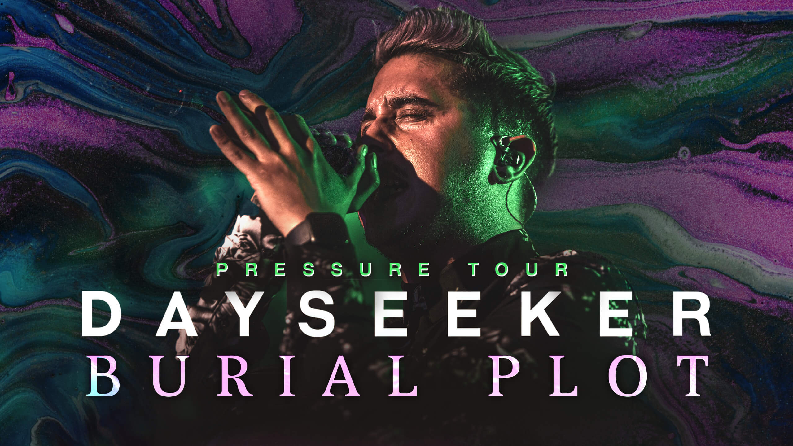 "LIVE: WATCH DAYSEEKER PERFORM ""BURIAL PLOT"" (PRESSURE TOUR)"