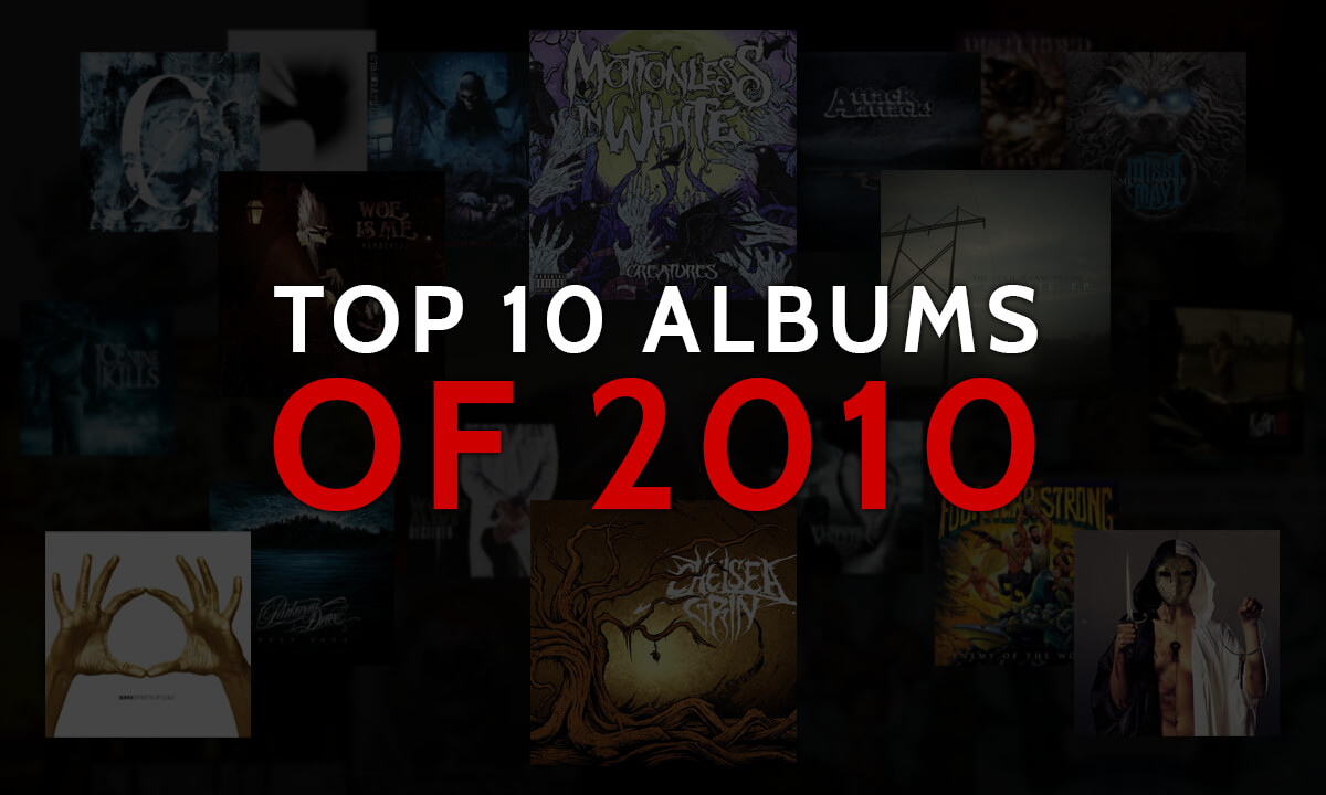 TOP ALBUMS OF THE 10s: 2010