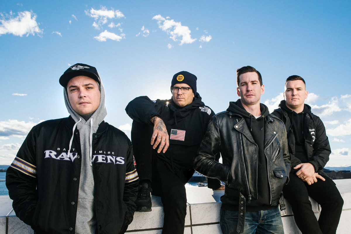"""THE AMITY AFFLICTION RELEASE """"MIDNIGHT TRAIN"""" & """"DON'T WADE IN THE WATER"""" B-SIDE TRACKS"""
