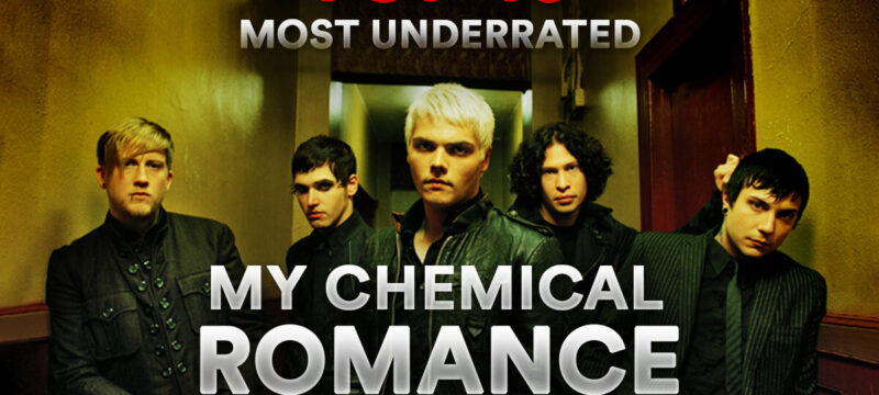 Top 10 Most Underrated My Chemical Romance Songs CaliberTV