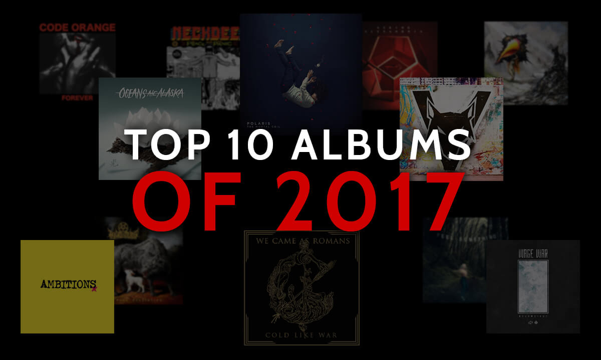 TOP ALBUMS OF THE 10S: 2017