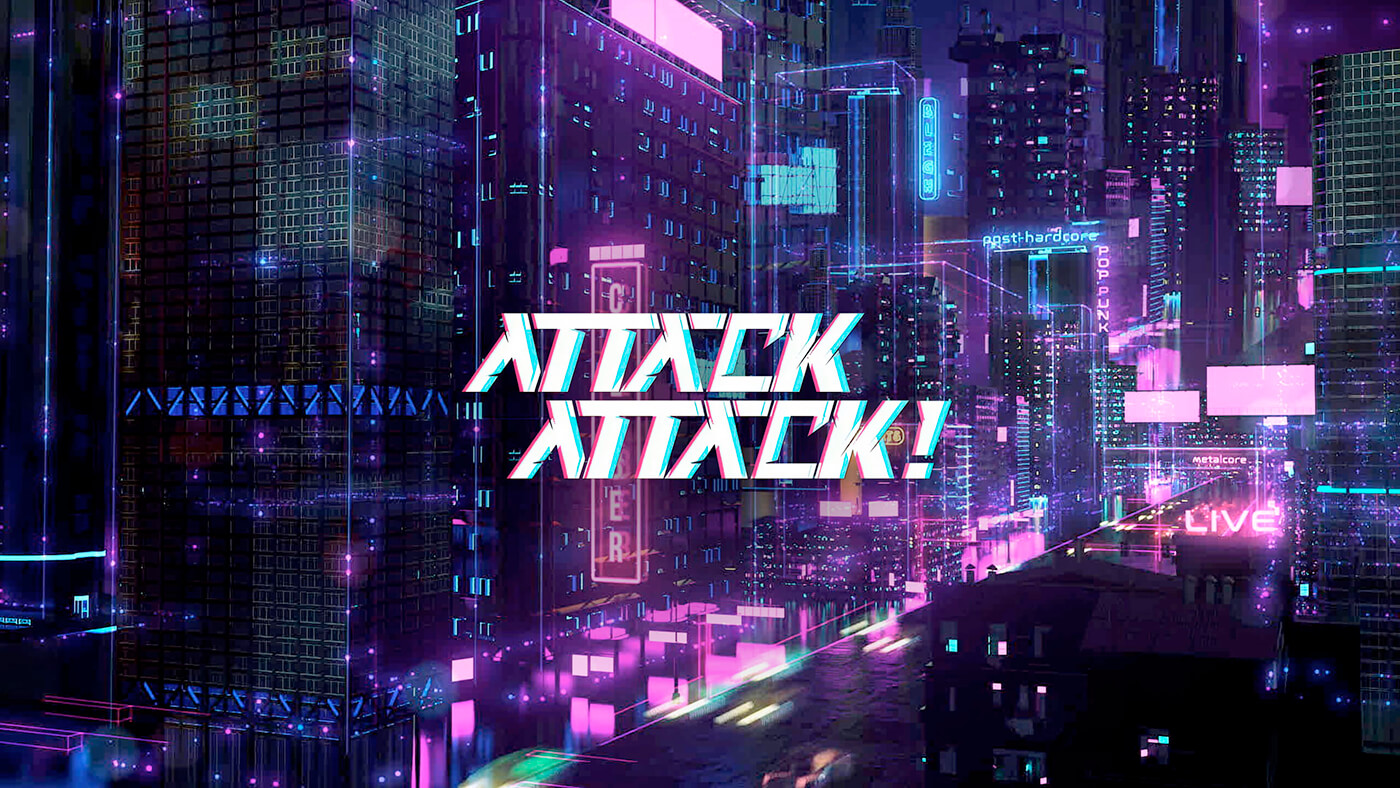 """WATCH: CYBER INTERVIEW WITH ATTACK ATTACK! """"WE ASKED A QUESTION, WHAT WOULD THE SELF-TITLED RECORD SOUND LIKE IF WE WROTE IT TODAY?"""""""