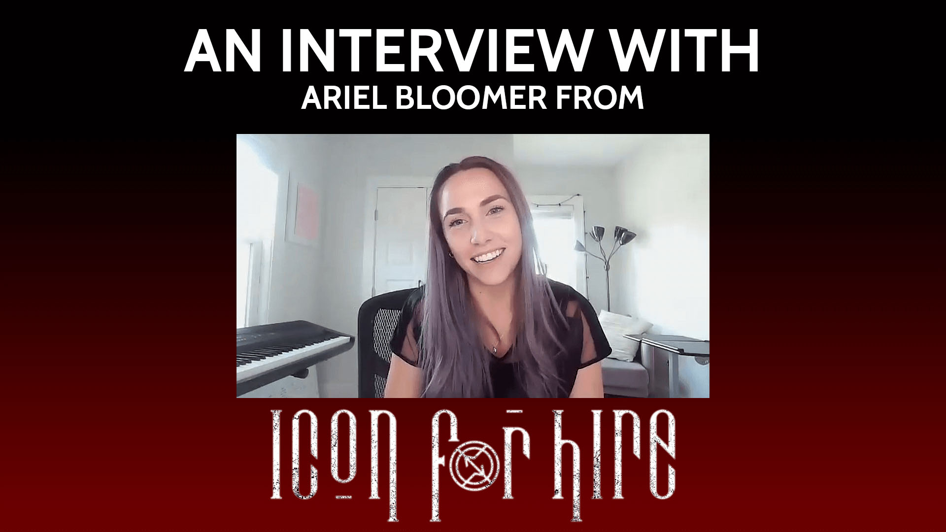 EXCLUSIVE: ONE ON ONE WITH ICON FOR HIRE'S ARIEL BLOOMER