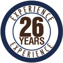 26 years of experience in Accounting