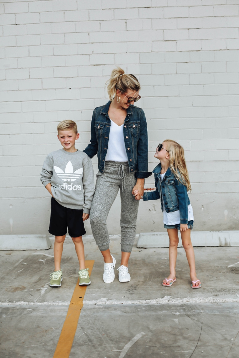 mommy and me looks | Adidas | 12 Easy Weeknight Dinners featured by popular Houston life and style blogger Haute & Humid