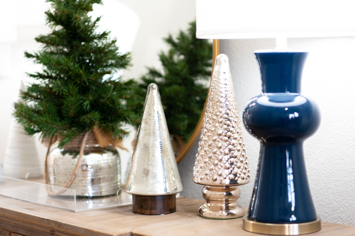 christmas buffet | Holiday Home Tour: Festive Christmas Home Decor featured by top Houston life and style blog Haute & Humid