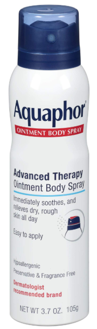 Amazon Beauty Products | 15 Best Amazon Beauty Products by popular Houston beauty blog, Haute and Humid: image of Aquaphor Ointment Body Spray.