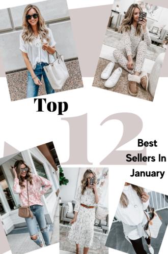 January Top 12 Best Sellers