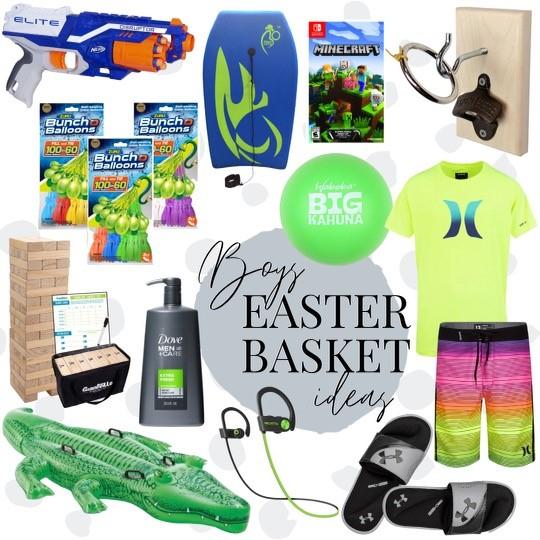 boys easter basket ideas
