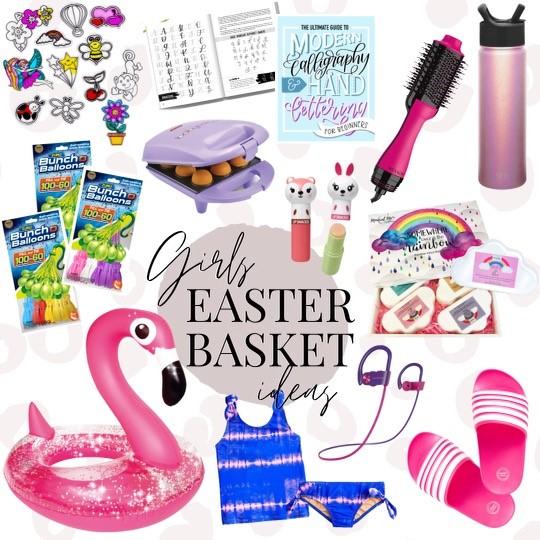 girls easter basket ideas