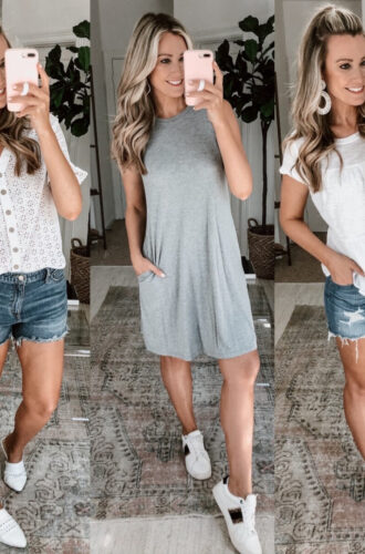 3 Casual Spring Outfits From Walmart