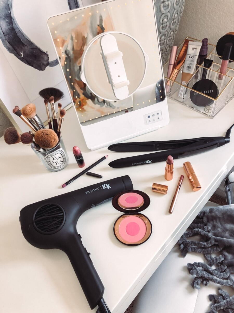 makeup mirror | Nordstrom Anniversary Sale by popular Houston beauty blog, Haute and Humid: image of a Riki loves Riki makeup mirror.