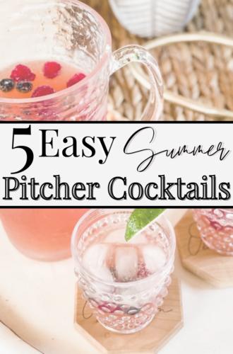 5 Summer Patio Pitcher Cocktails
