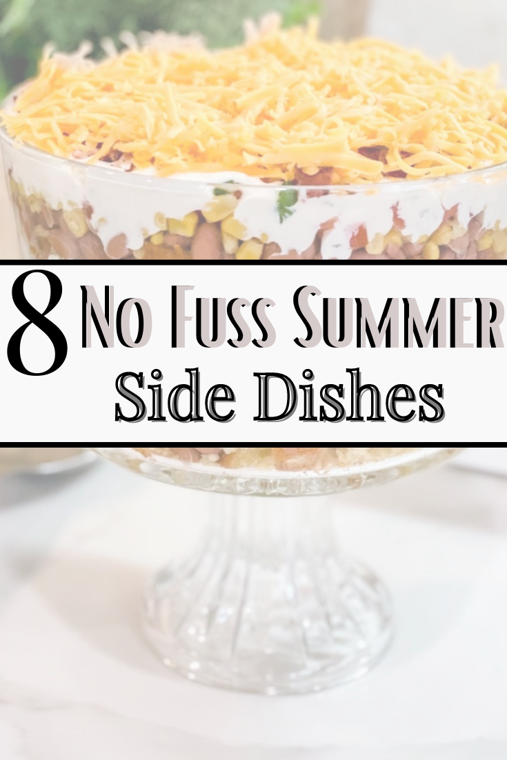summer side dishes | Summer Side Dishes by popular Houston lifestyle blog, Haute and Humid: Pinterest image of summer side dishes.