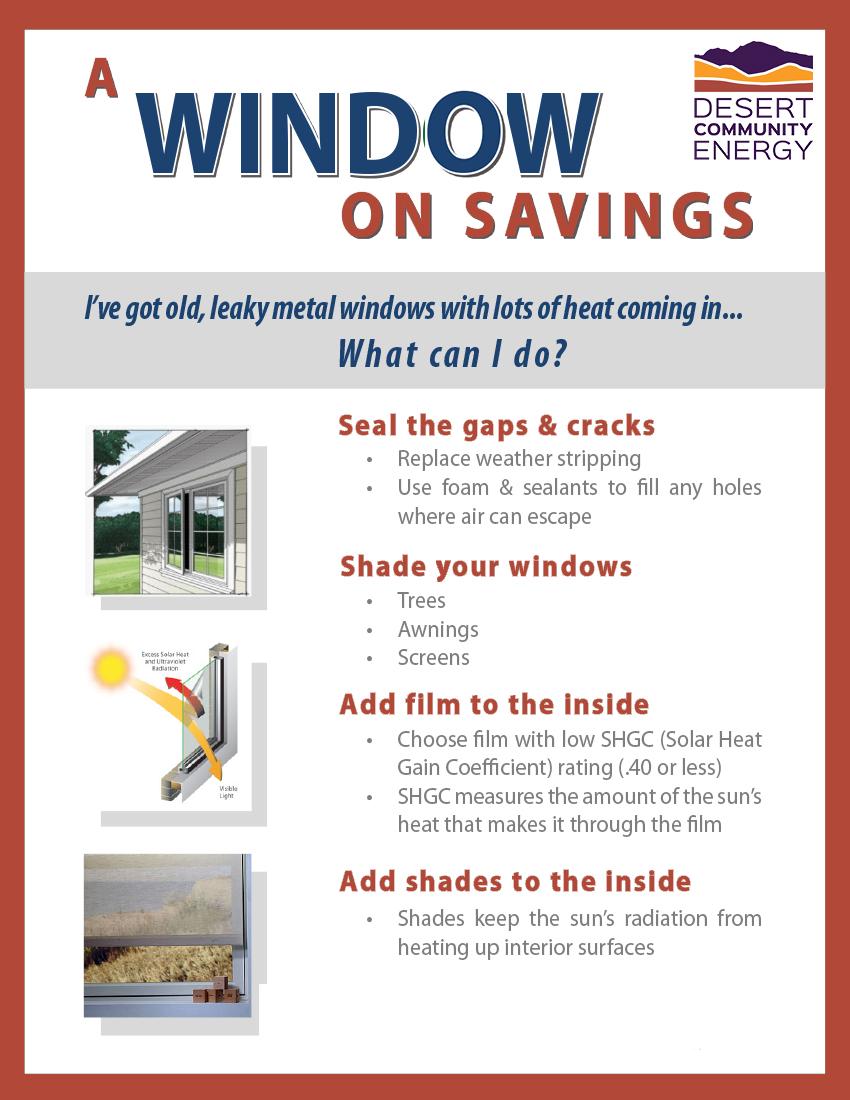 2. DCE. A Window on Savings