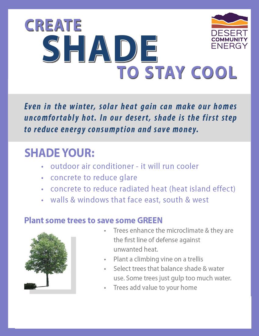 4. DCE. Create Shade