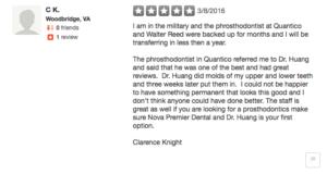 good dentist review