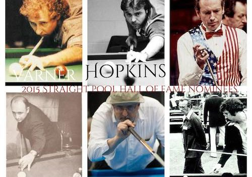 Nominees for 5th Annual Straight Pool Hall of Fame