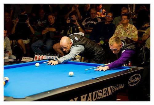 Thorsten Homann Wins World Tournament of 14.1