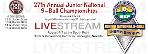 27th Annual Junior National 9-Ball Championship