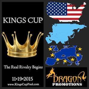 """Kings Cup – """"East vs. West"""" – November 19-21"""