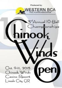 chinook winds tourney logo