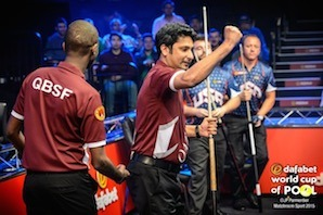 USA Upset by Qatar in World Cup of Pool