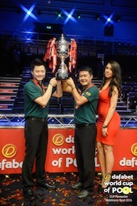 Chinese Taipei Team Wins Dafabet World Cup of Pool