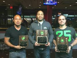 Tri-State Tour Winners at Steinway Billiards