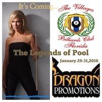 Florida Billiards Expo Jan. 28-31 at The Villages, Florida