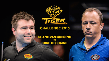 Pool's 2015 Tiger Challenge (Van Boening vs Dechaine) on YouTube