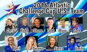 """Pool's 2016 Atlantic Challenge Cup """"USA Team"""""""