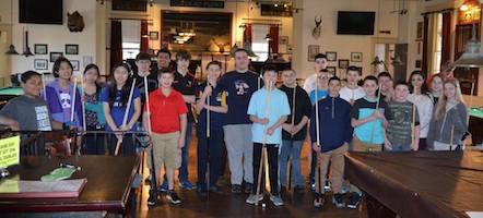Jiang & Fracasso-Verner, Massachusetts Jr. State 9-Ball Champs