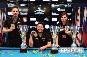 Europe's Dynamic 9-Ball Titles: Khodjaeva, Larsson and Sanchez-Ruiz