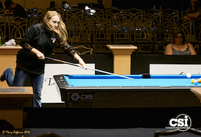 Wagner Wins Women's 8-Ball, 9-Ball & All-Around Titles at USBTC