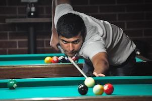 Sharik Captures Omega Billiards Tour Title