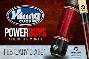 Viking Cue of the Month – February Giveaway