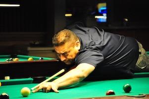 Gutierrez Undefeated on Omega Billiard Tour