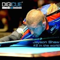 World #2 Jayson Shaw joins the DigiCue Team