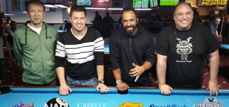 Winners atSteinway Billiards onPredator Pro/Am