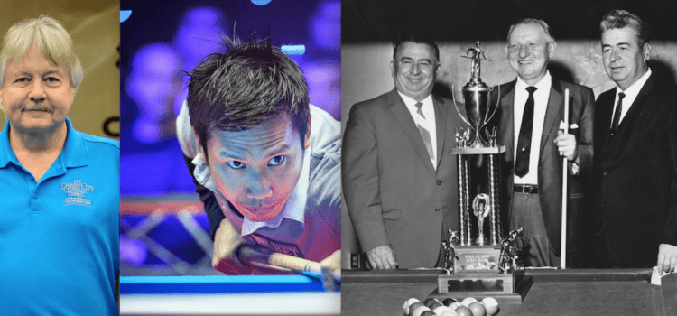 Sullivan, Pagulayan, Jansco Brothers – Elected to Billiard Congress of America Hall of Fame