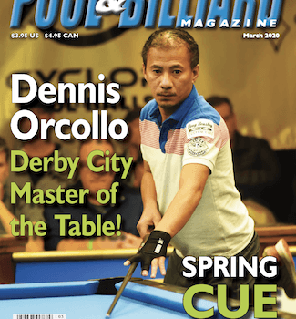 Next Up, April's Annual SUPER BILLIARDS EXPO Issue