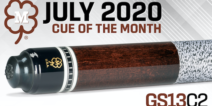 McDermott Cue of the Month Giveaway for July 2020
