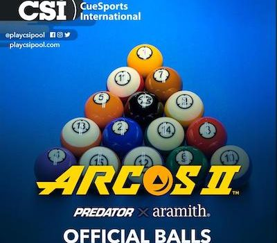 CSI International Official Balls Announced