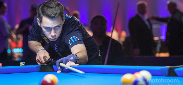 Rookie Robinson Completes Team USA for Partypoker Moconi Cup