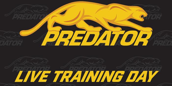 Predator Live Stream Training Day – Sunday, Nov. 29