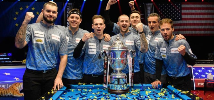 Europe Regains Partypoker Mosconi Cup