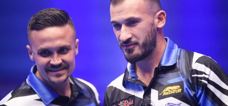 RUSSIA, GREECE AND ESTONIA SAFELY THROUGH AT WORLD CUP OF POOL